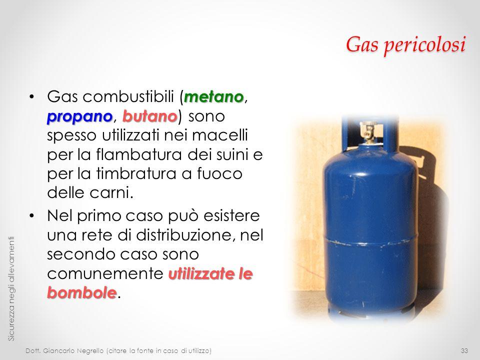 Gas pericolosi
