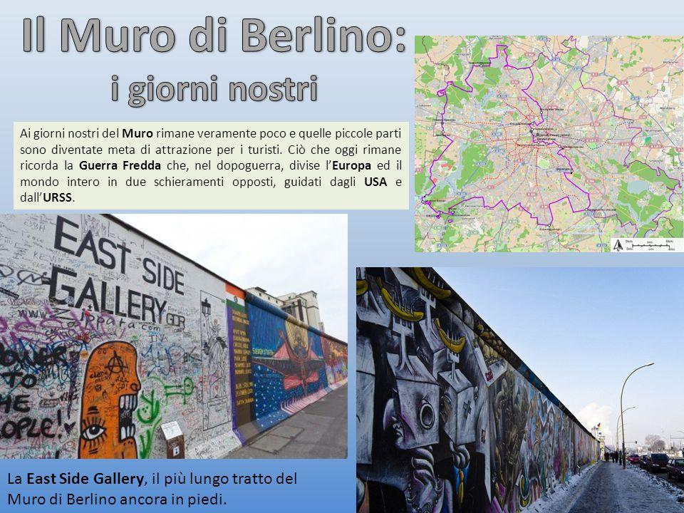 Il Muro di Berlino: i giorni nostri