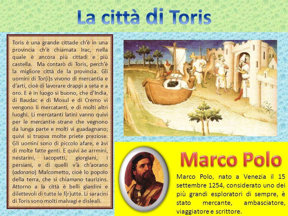 La città di Toris Marco Polo