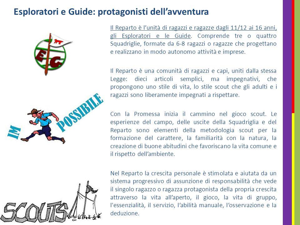 Esploratori e Guide: protagonisti dell'avventura