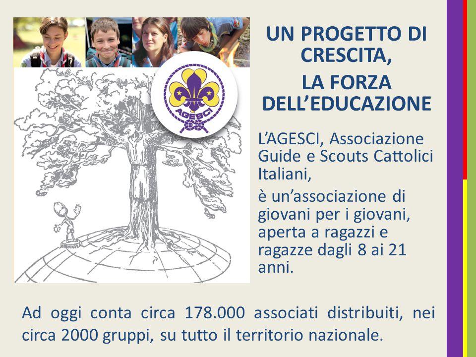 UN PROGETTO DI CRESCITA, LA FORZA DELL'EDUCAZIONE