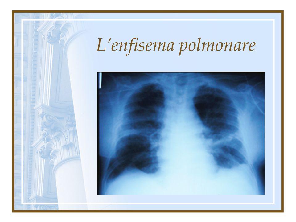 L'enfisema polmonare