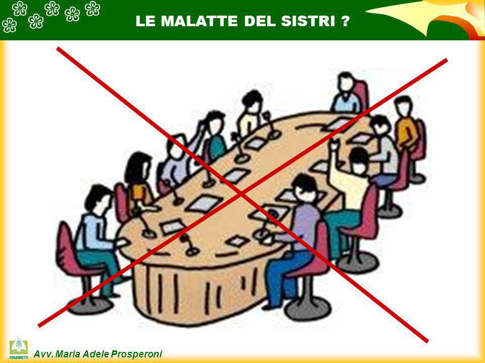 LE MALATTE DEL SISTRI