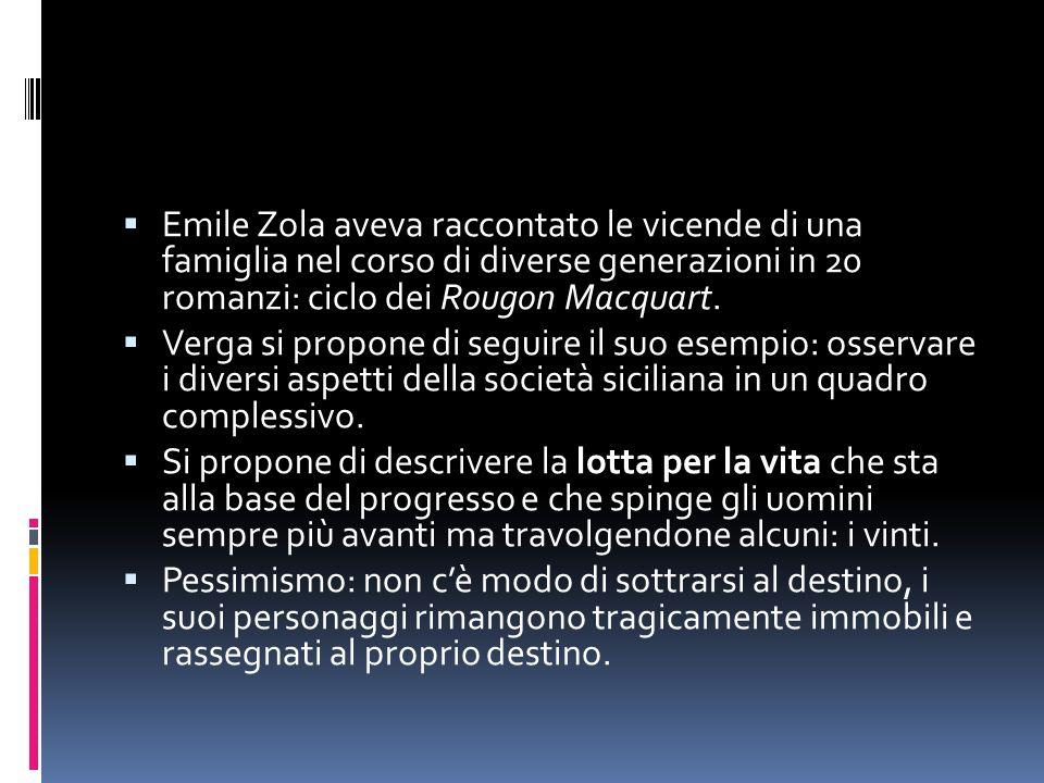 Emile Zola aveva raccontato le vicende di una famiglia nel corso di diverse generazioni in 20 romanzi: ciclo dei Rougon Macquart.