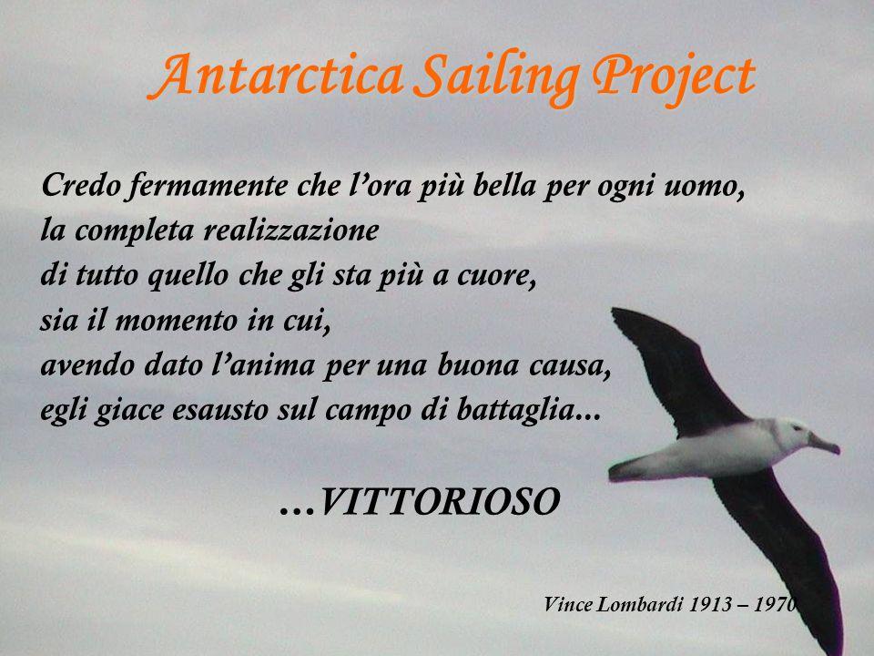 Antarctica Sailing Project