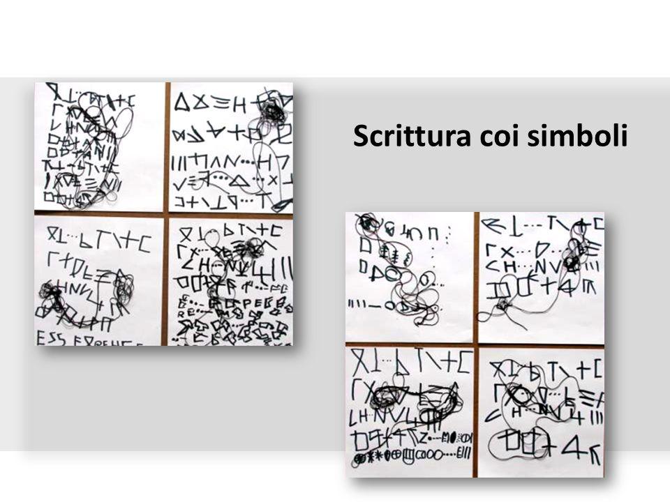 Scrittura coi simboli
