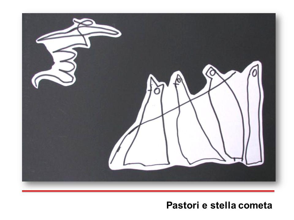 Pastori e stella cometa