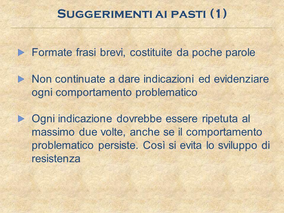 Suggerimenti ai pasti (1)