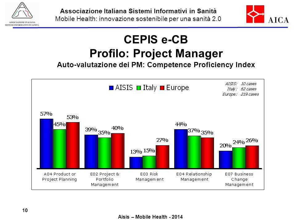 CEPIS e-CB Profilo: Project Manager