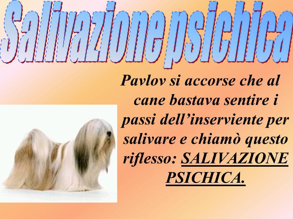 Salivazione psichica
