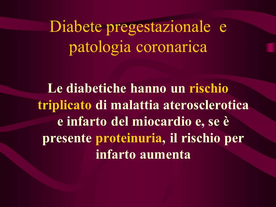 Diabete pregestazionale e patologia coronarica