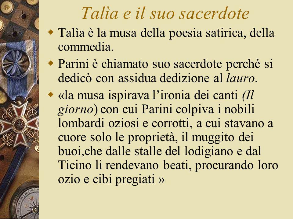 Talìa e il suo sacerdote