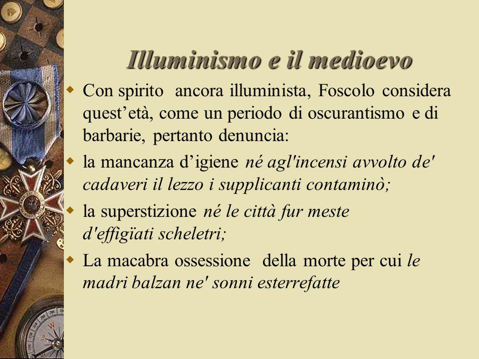Illuminismo e il medioevo