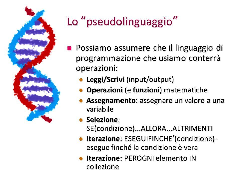 Lo pseudolinguaggio