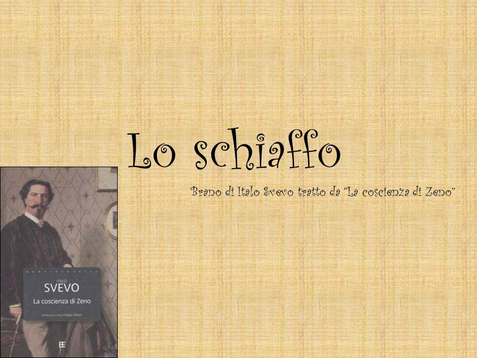 Brano di Italo Svevo tratto da La coscienza di Zeno