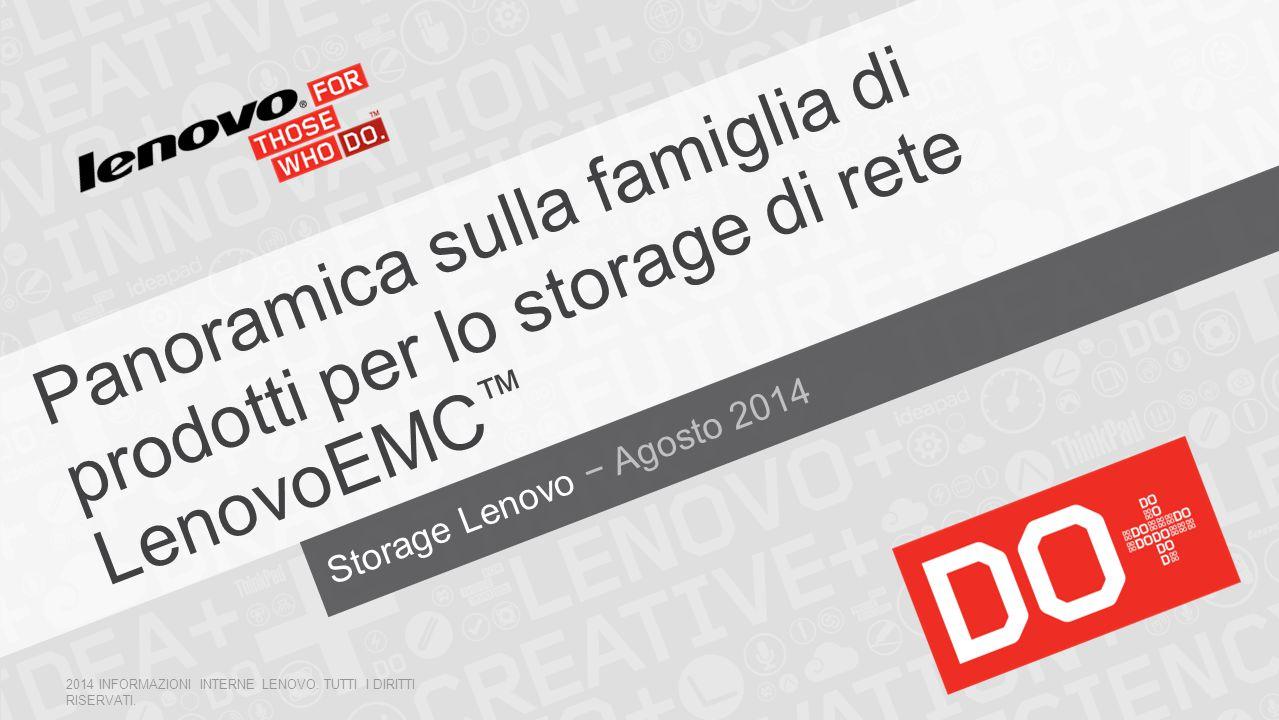 Storage Lenovo − Agosto 2014