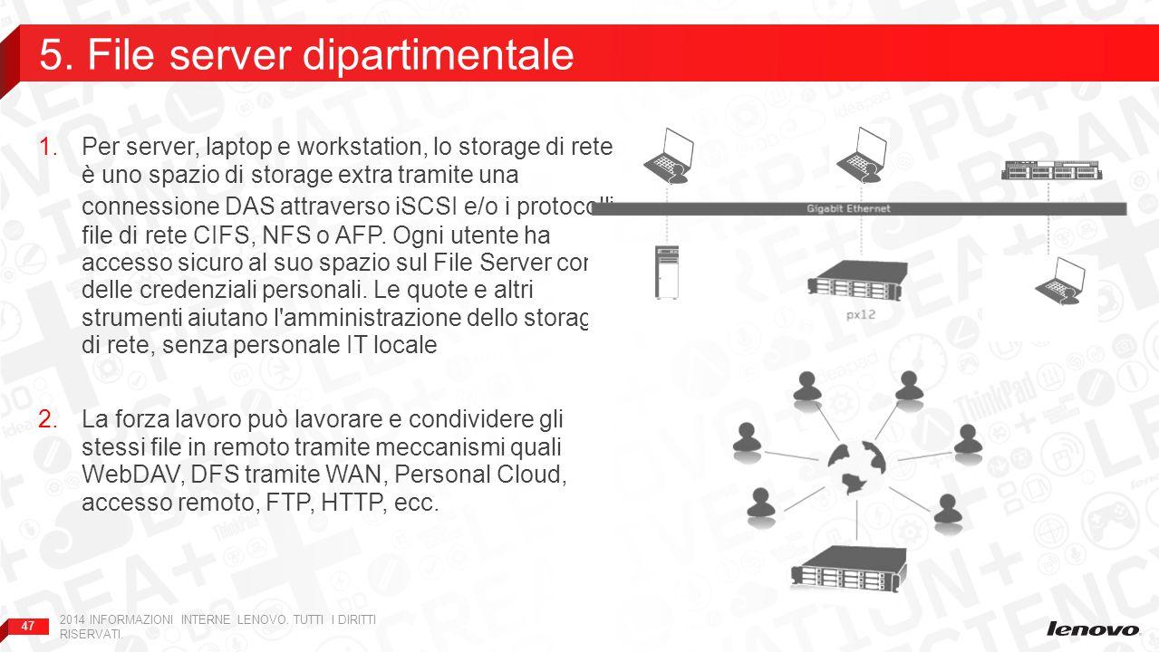 5. File server dipartimentale