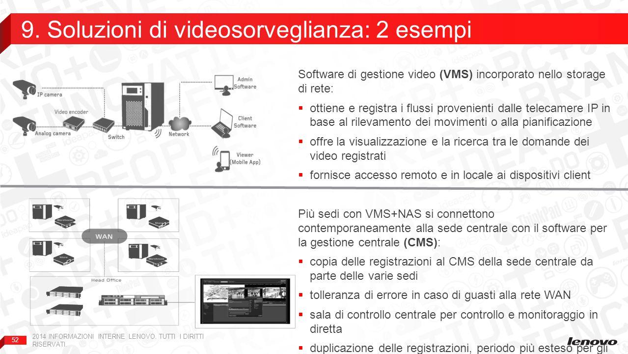 9. Soluzioni di videosorveglianza: 2 esempi