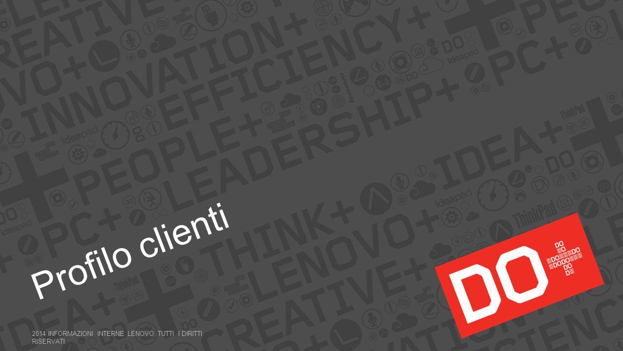 Profilo clienti 2014 INFORMAZIONI INTERNE LENOVO. Tutti i diritti riservati.