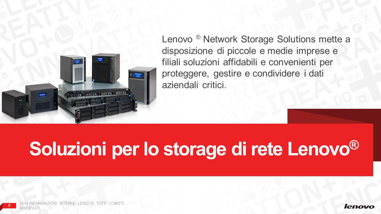 Soluzioni per lo storage di rete Lenovo®