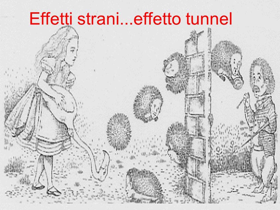 Effetti strani...effetto tunnel