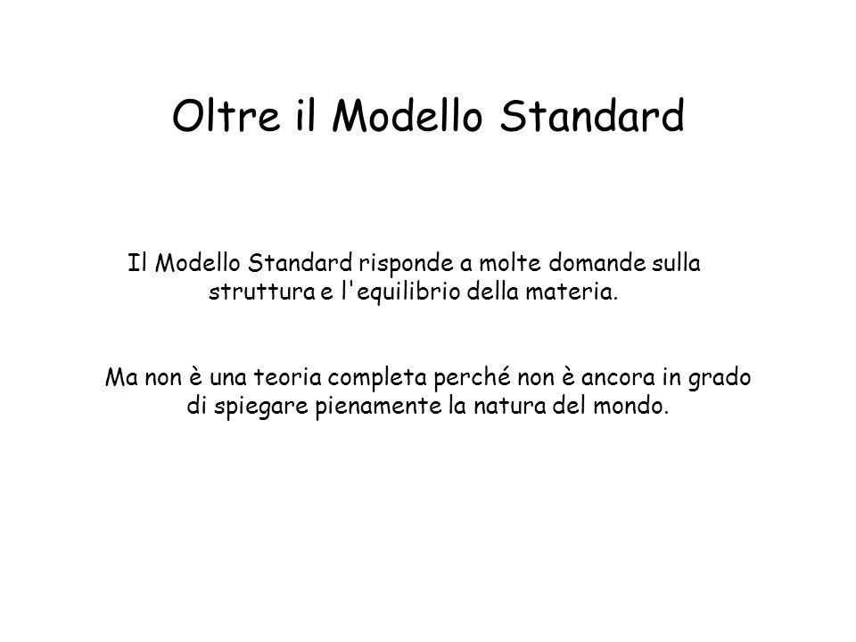Oltre il Modello Standard