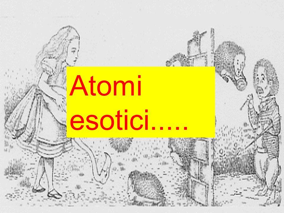 Atomi esotici.....