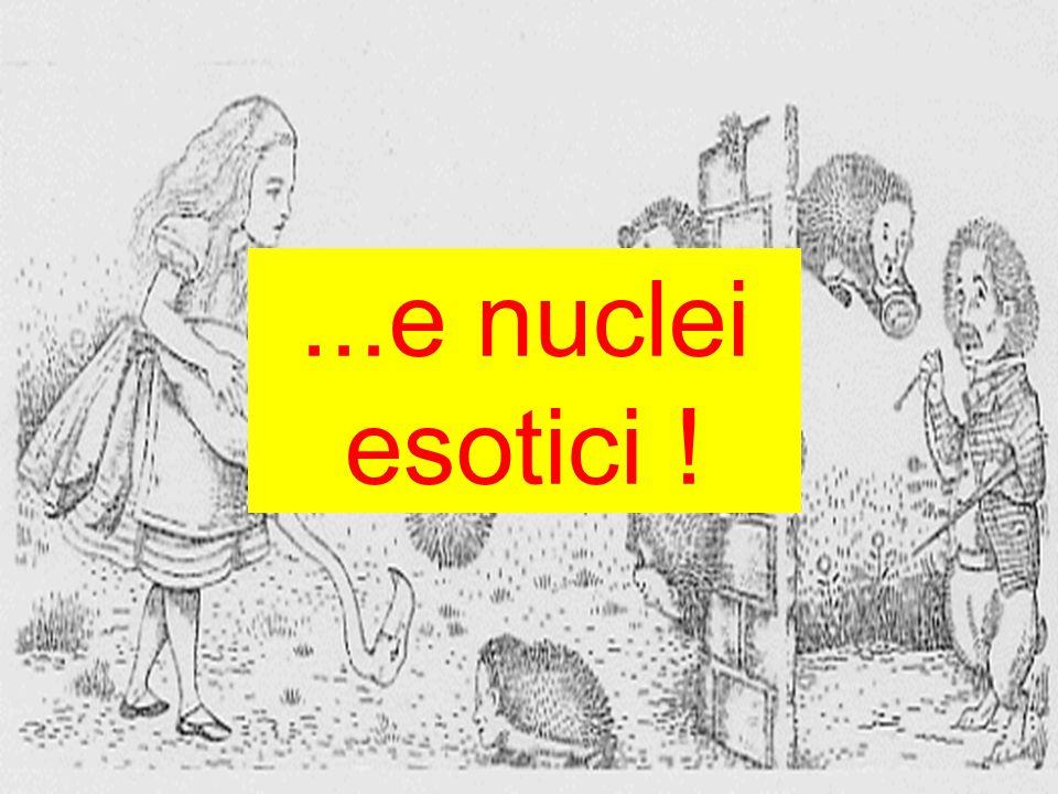 ...e nuclei esotici !