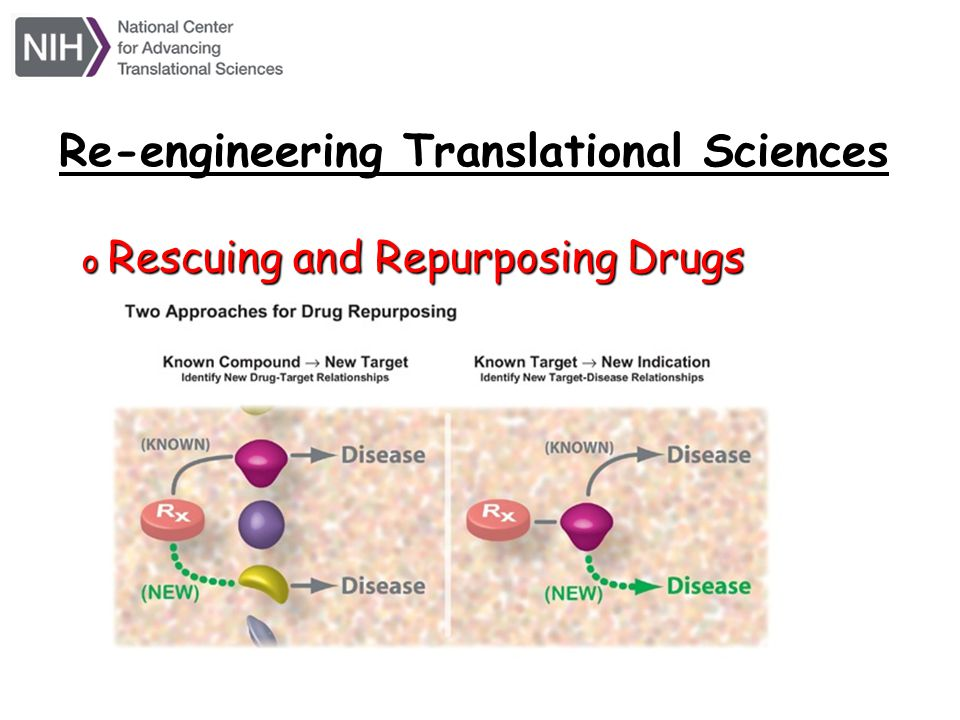 Re-engineering Translational Sciences
