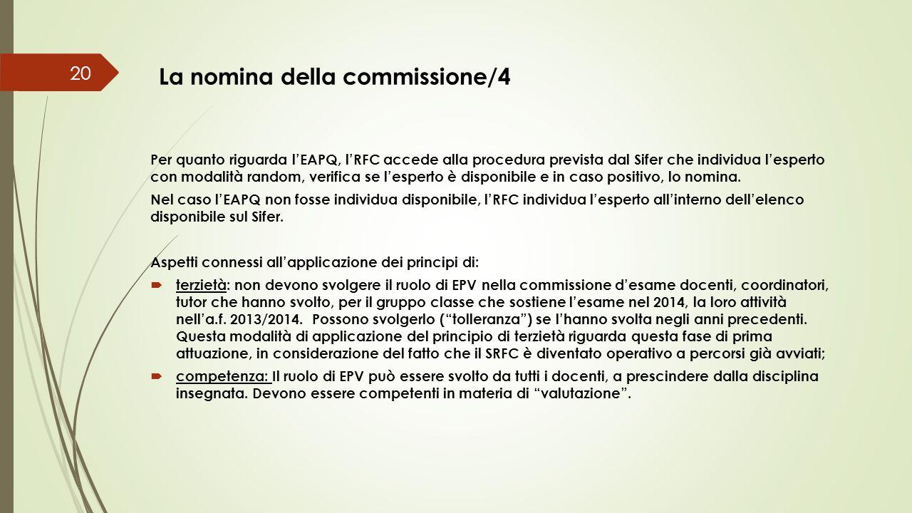 La nomina della commissione/4