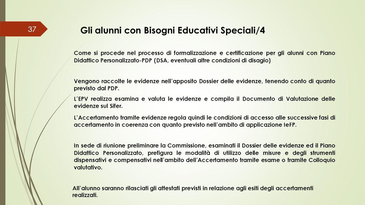 Gli alunni con Bisogni Educativi Speciali/4
