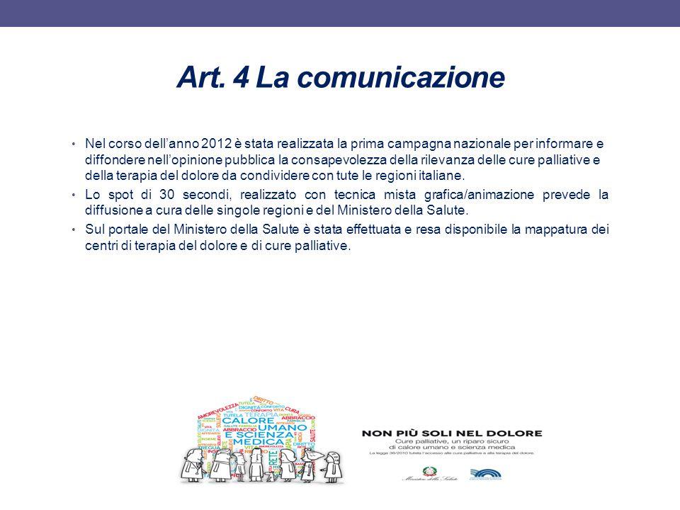 Art. 4 La comunicazione