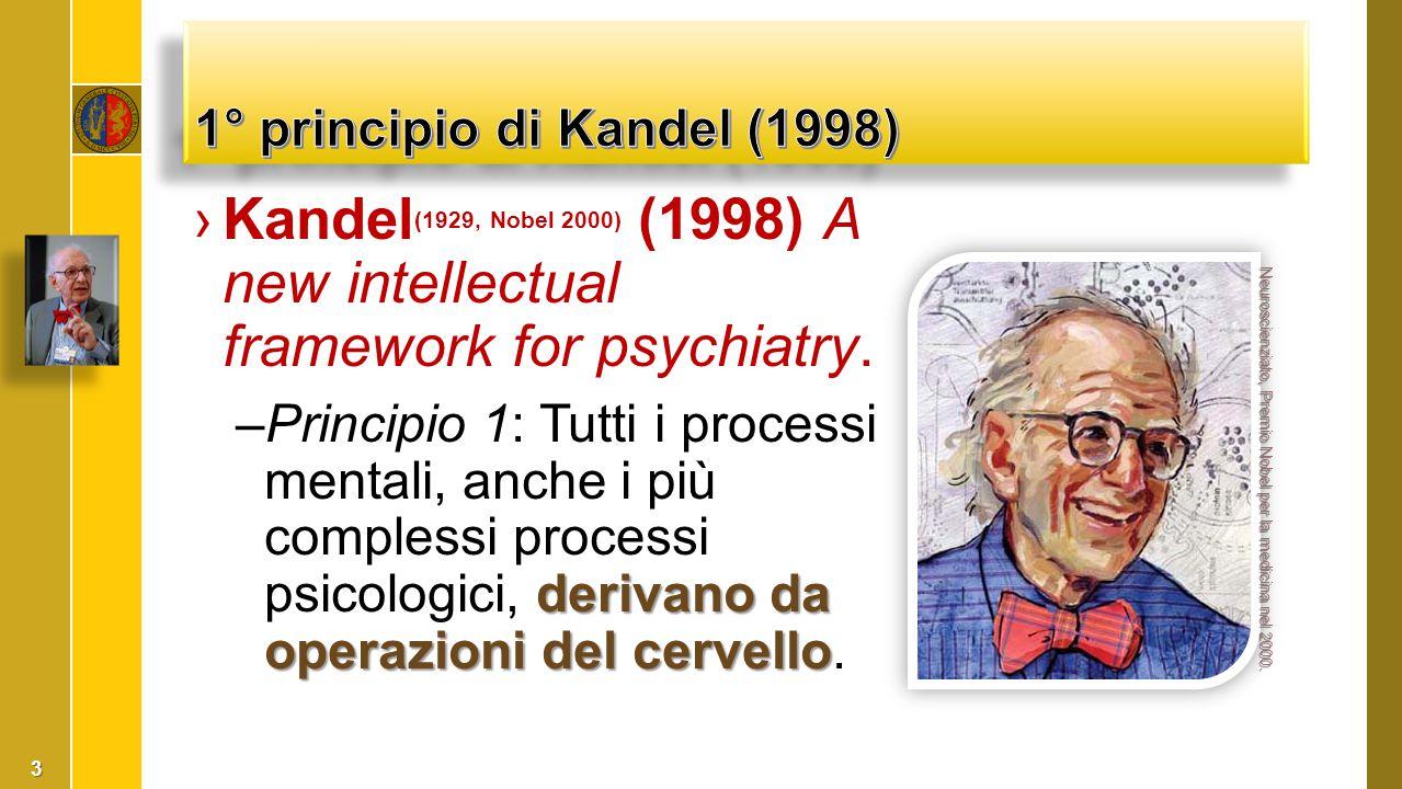 1° principio di Kandel (1998)
