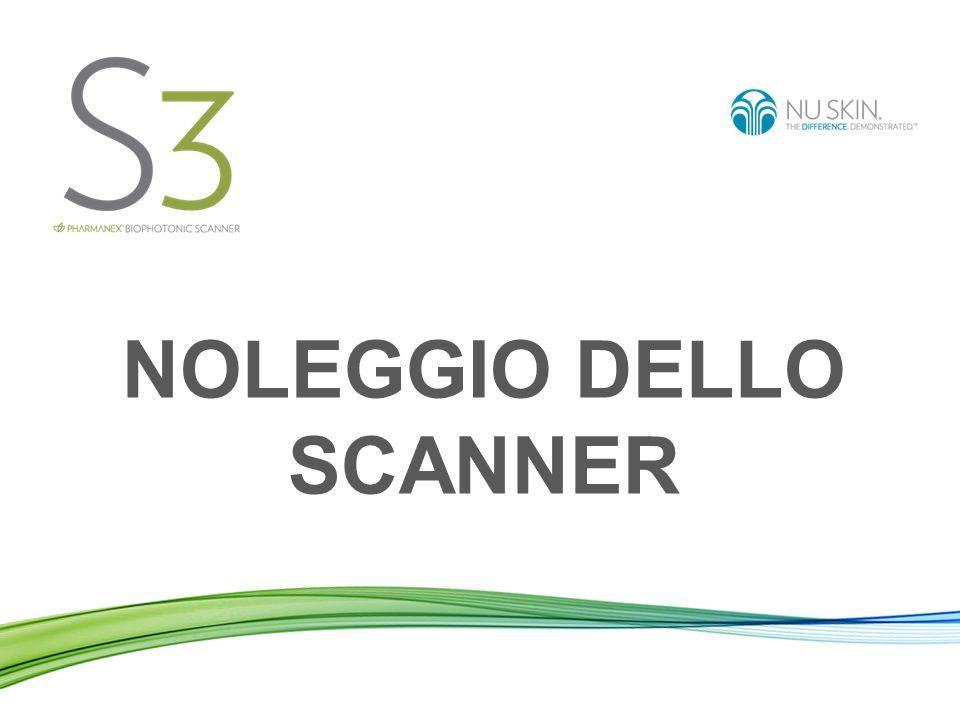 Noleggio dello Scanner