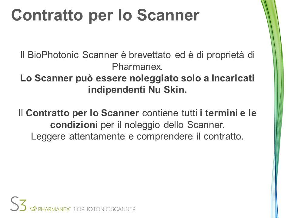 Contratto per lo Scanner