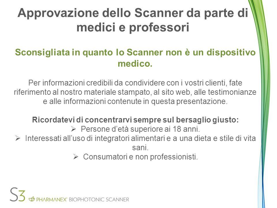 Approvazione dello Scanner da parte di medici e professori