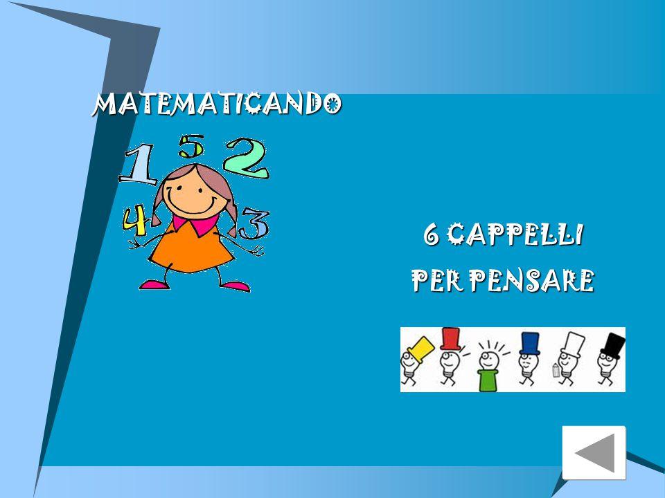 MATEMATICANDO 6 CAPPELLI PER PENSARE