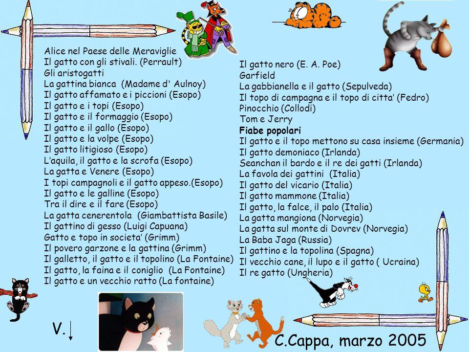 V. C.Cappa, marzo 2005 Alice nel Paese delle Meraviglie