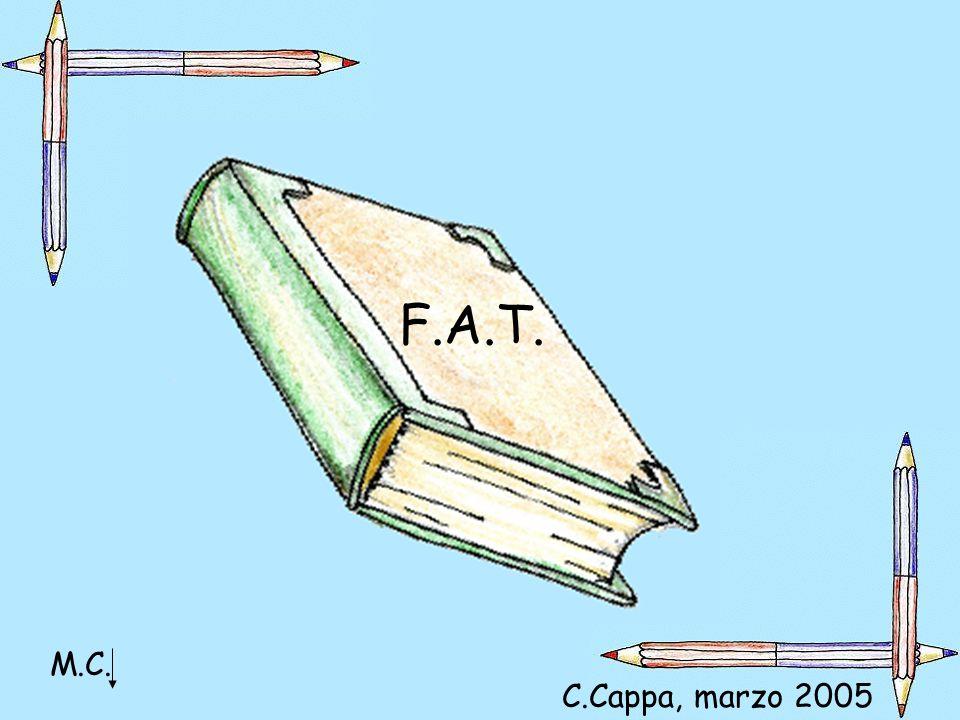 F.A.T. M.C. C.Cappa, marzo 2005 MARIA Cristina