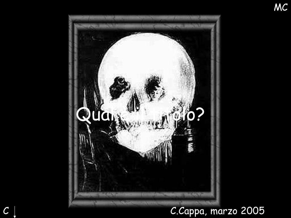 IMMAGINE Qual è il titolo MC C C.Cappa, marzo 2005 Maria Cristina