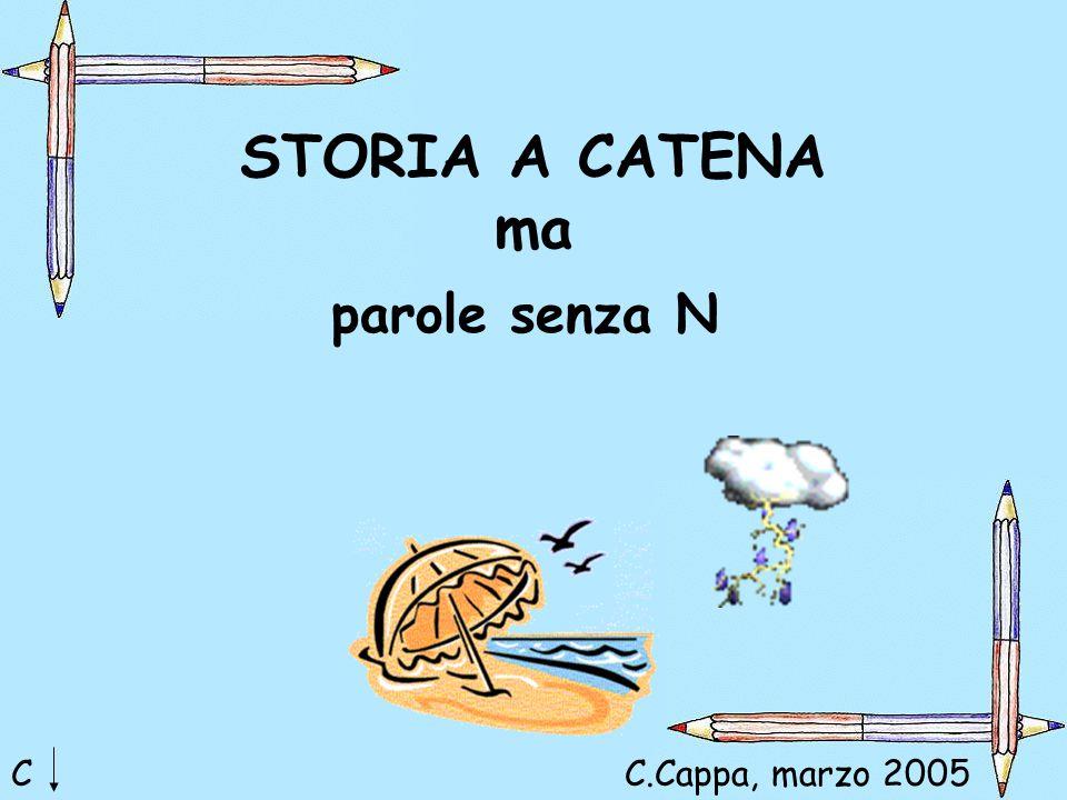STORIA A CATENA ma parole senza N C C.Cappa, marzo 2005 Maria Cristina