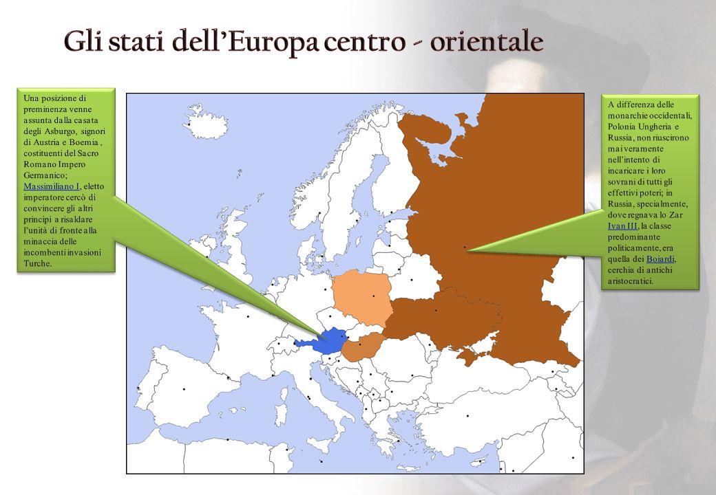 Gli stati dell'Europa centro - orientale