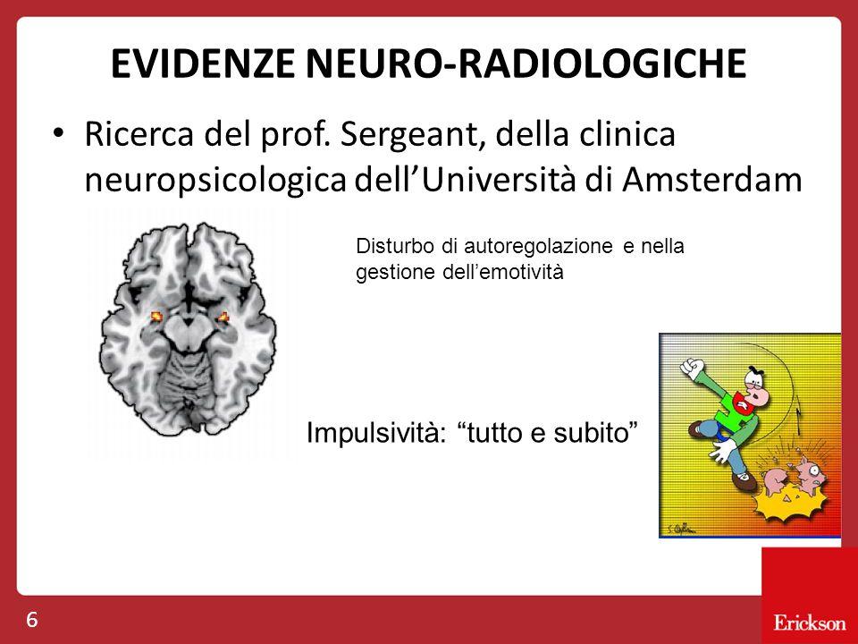 EVIDENZE NEURO-RADIOLOGICHE
