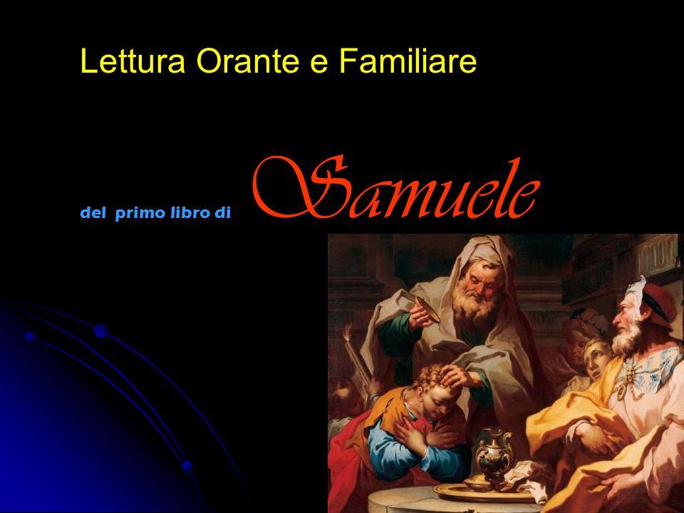 Lettura Orante e Familiare