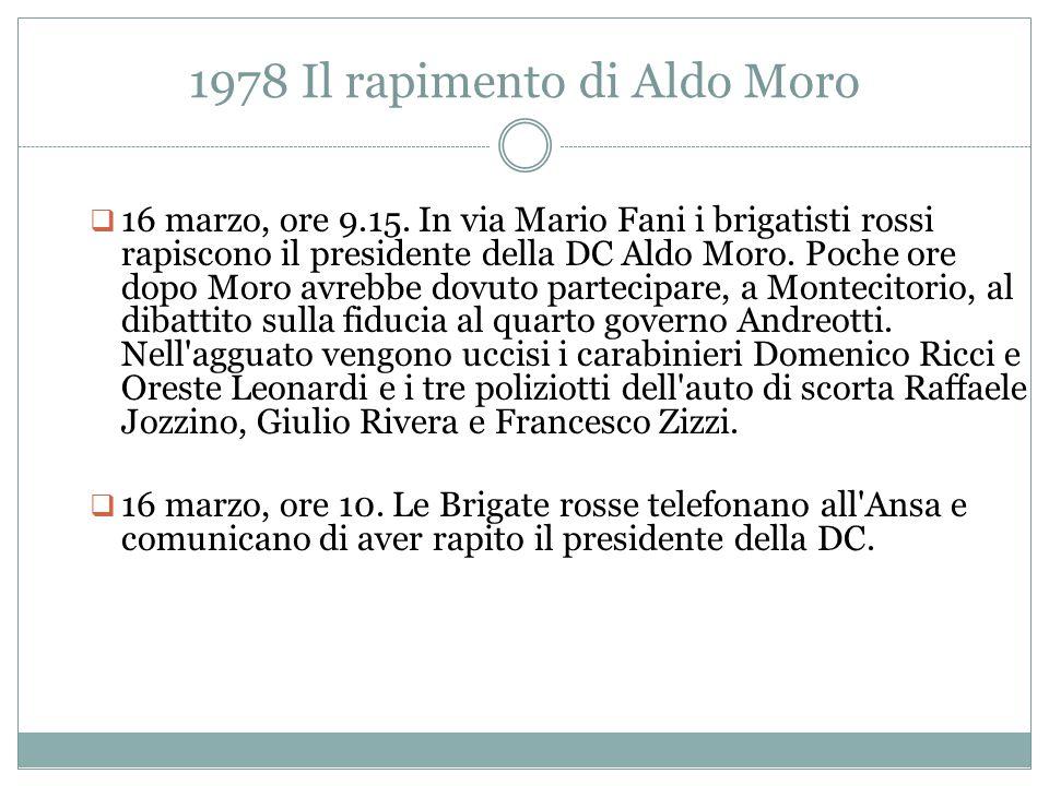 1978 Il rapimento di Aldo Moro