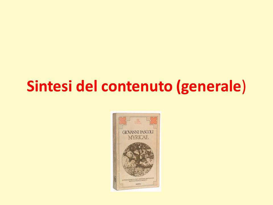Sintesi del contenuto (generale)