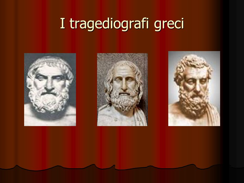 I tragediografi greci