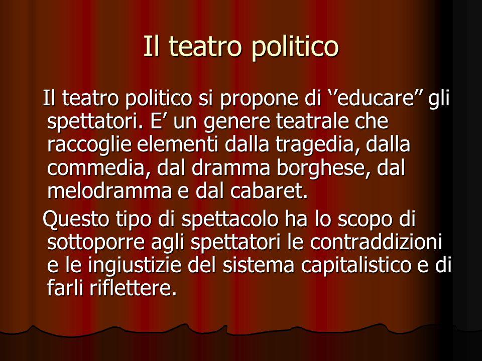 Il teatro politico