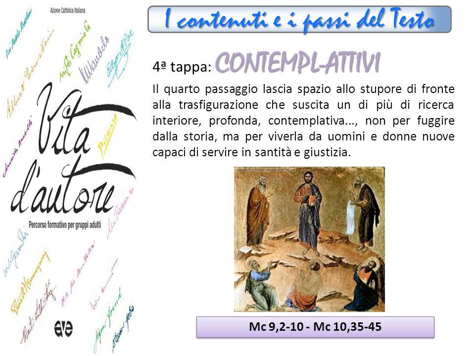I contenuti e i passi del Testo