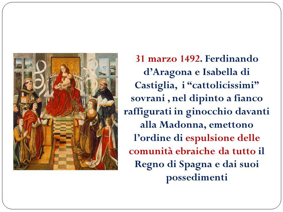 31 marzo 1492.